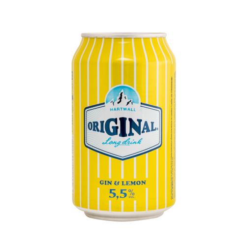 Hartwell Original Gin & Lemon 33cl